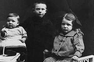 Heini, Karl och Marie Lass