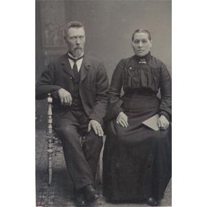 Peder Johan och Berta Serine Kvalevaag