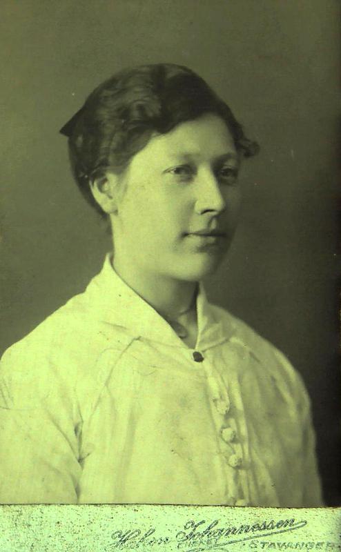 Bertha Sofie Pedersdatter Kvalavåg